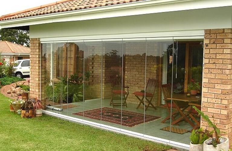 cortinas de vidro