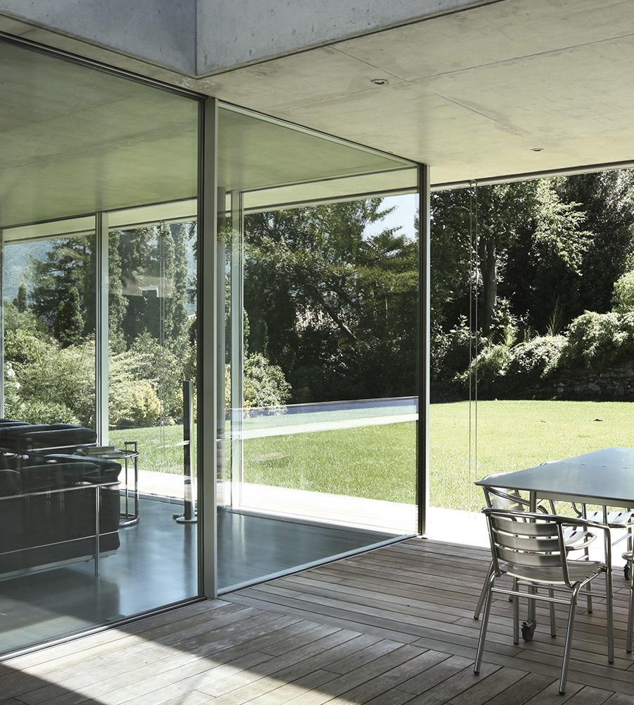 Caixilhos em alumínio para portas, janelas e marquises em Alverca