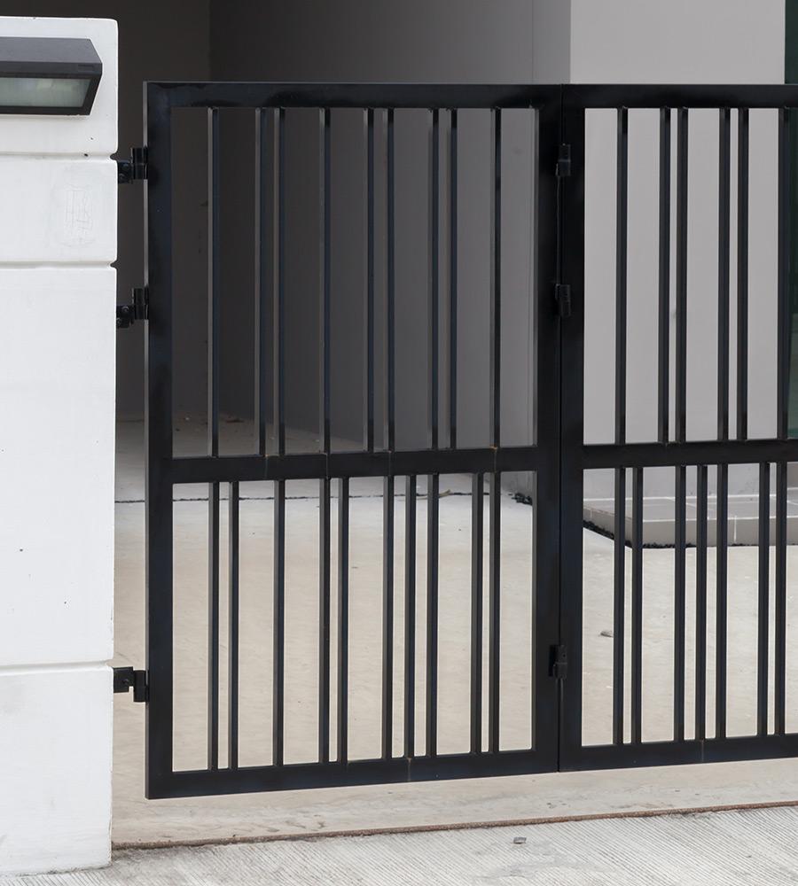 Tipos de portões de ferro